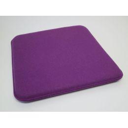 Sitzkissen aus Filz mit abgerundeten Ecken, Maße 38 x 38 cm