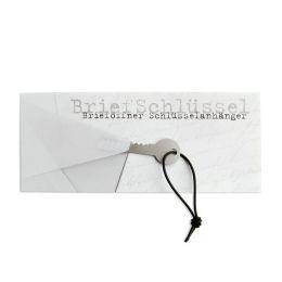 BriefSchlüssel - Grußkarte Brieföffner und Schlüsselanhänger im Umschlag