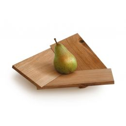 Obstschale aus Holz, Eiche geölt