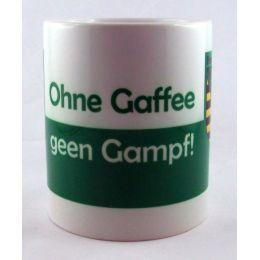 Tasse Ohne Gaffee gen Gampf Kaffeetasse Sachsen Porzellan Deko Ostprodukt Ossi Sachsen