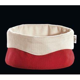 Brottasche rot groß Brotkorb Brotaufbewahrung Tasche Schale Korb Brot