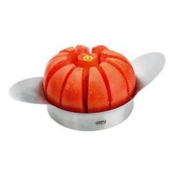 Apfelschneider Tomatenteiler schneiden teilen Pomo Edelstahl