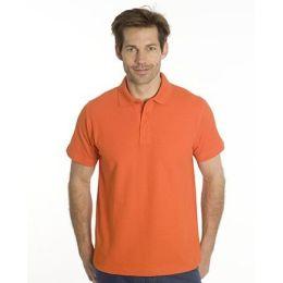 SNAP Polo Shirt Star - Gr.: S, Farbe: orange