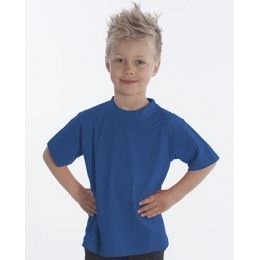SNAP T-Shirt Basic-Line Kids, Gr. 116, Farbe royal