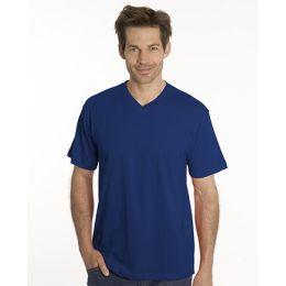 SNAP T-Shirt Flash Line V-Neck Unisex, navy, Gr. L