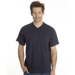 SNAP T-Shirt Flash Line V-Neck Unisex, schwarz, Gr. L