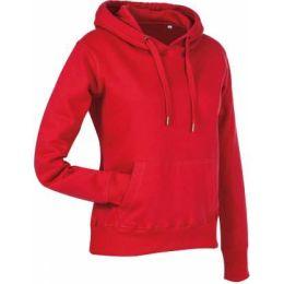 Stedman Active Sweat Hoody Damen purpurrot, Grösse XL