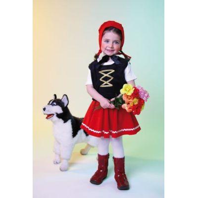 Variante 92 92 Kinderkostum Rotkappchen 3teilig Karneval