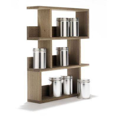 Gewürzregal Gourmet aus Holz | 571326570 / EAN:4023116400522