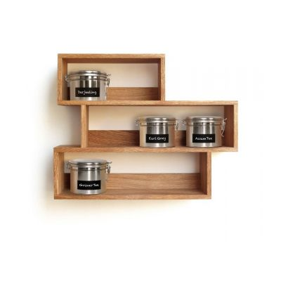 Teeregal aus Holz | 40087 / EAN:4023116400874
