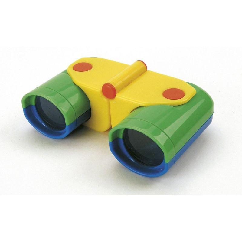 Pfiffikus 42392 Profi-Fernglas mit Gürteltasche Spielzeug Kinder Fernglas grün