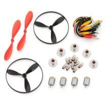 Anfängerset Elektrobasteln (Lämpchen, Fassungen, Meßstrippen, Motoren, Luftschrauben)