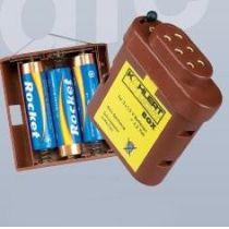 Batteriebox mit Kappe und Schalter