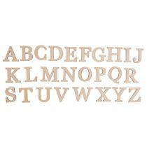 Buchstaben Holz, A-Z (25 x 25 mm)