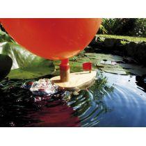 EDUPLAY Kleines Luftballonboot (Knatterboot)
