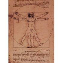 Effekt-Postkarte Wackelbild Leonardo Da Vinci