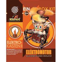 Elektro-Kasten II: Elektromotor; Experimentierkasten