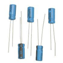 Elektrolytkondensator, 10µF/ 16V, 5 Stück
