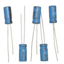 Elektrolytkondensator, 100µF/ 16V, 5 Stück