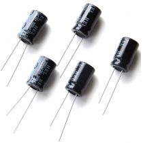 Elektrolytkondensator, 1000µF/ 16V, 5 Stück