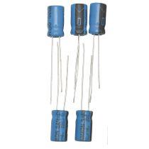 Elektrolytkondensator, 220µF/ 16V, 5 Stück