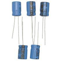 Elektrolytkondensator, 470µF/ 16V, 5 Stück