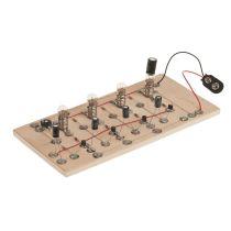 Elektronik Schaltung: 4-Kanal-Lauflicht
