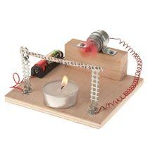Funktionsmodell Bimetall-Lüfter