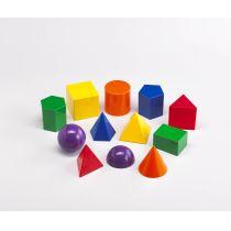 Geometrie Körper 12 Stück (Geometric Solids)