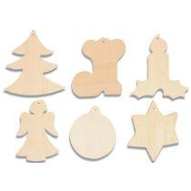 Holzmotive Weihnachten