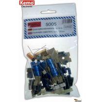 Kemo Elektrolytkondensator ca. 50 Stück