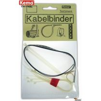 Kemo Kabelbinder 1 Satz