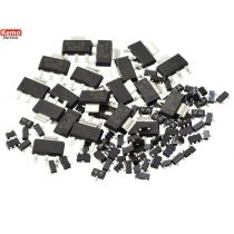 Kemo SMD Transistoren ca. 100 Stück
