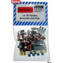 Kemo Spulen, Drosseln und Filter ca. 50 Stück