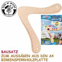KIDS AT WORK Bumerangbausatz 2-Flügler