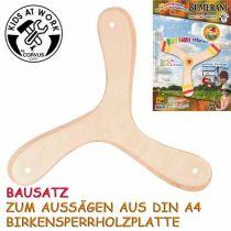 KIDS AT WORK Bumerangbausatz 3-Flügler