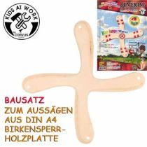 KIDS AT WORK Bumerangbausatz 4-Flügler