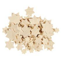 Kleine Sterne aus Holz - verschieden Größen