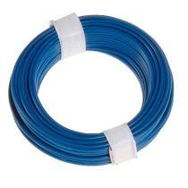 Litze 1-adrig, 18 x 0,1/ 10m, blau