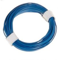 Litze 2-adrig 2 x 10 x 0,1/ 5m, blau