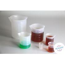 Messbechersatz aus 6 Teilen aus RE-Plastic®