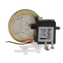 Mikro-Servo S18JST, 1.8 Gramm - Einer der kleinsten Servos der Welt!