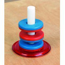 Schwebende Magnetringe Set, groß