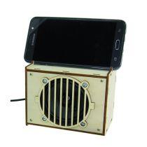 SOL-EXPERT Aktivbox für Smartphones und MP3, Lötbausatz