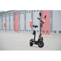 E-Scooter Bis Zu 35 Km/H Schnell - 25km Reichweite, 36V | 1000W | 12AH Akku, Mit Straßenzulassung -AEEC