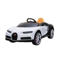 Kinderfahrzeug - Elektro Auto Bugatti Chiron - Lizenziert - 12V7AH, 2 Motoren- 2,4Ghz Fernsteuerung, MP3,Leder