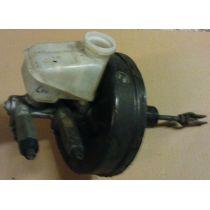 Bremskraftverstärker m. HBZ Opel Corsa A alle 190 / 20.00 mm / mit 2 Bremskraftregelventilen und Bremsflüssigk