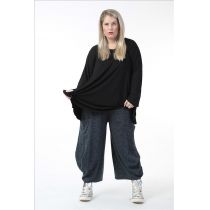 Damen Hosen blau-schwarz Herbst Winter