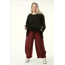 Damen Hosen rot-schwarz Herbst Winter