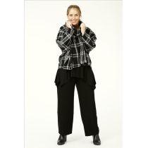 Lagenlook Fleece-Pullover Überwürfe
